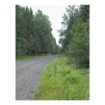 Forest Road Personalized Letterhead