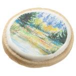 Forest Round Premium Shortbread Cookie