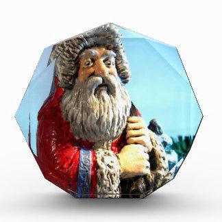 Forest Santa Acrylic Award