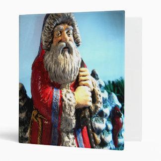 Forest Santa I Vinyl Binder