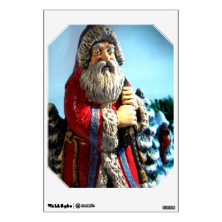 Forest Santa I Wall Decal