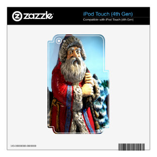 Forest Santa iPod Touch 4G Skin