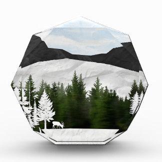 Forest Scene Acrylic Award