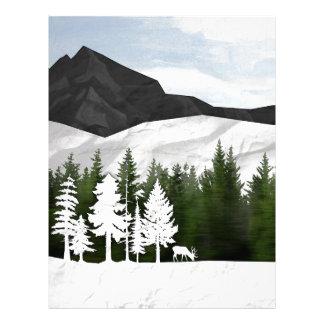 Forest Scene Letterhead