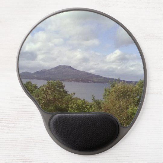 Forest sea and mountain gel mouse pad
