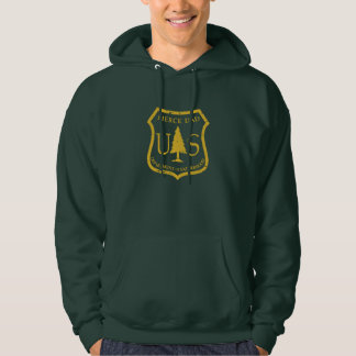 Forest Service Style Dept of Fatherhood Hoodie