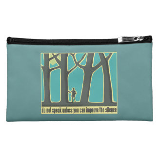 Forest Silence Cosmetic Bag