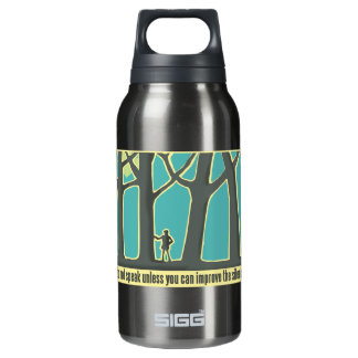 Forest Silence Insulated Water Bottle