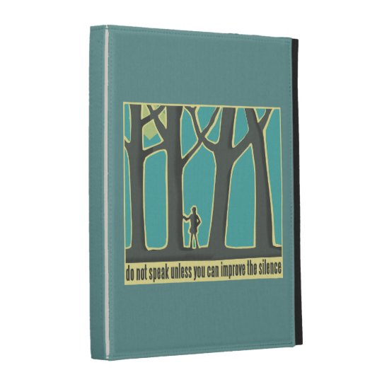 Forest Silence iPad Folio Case