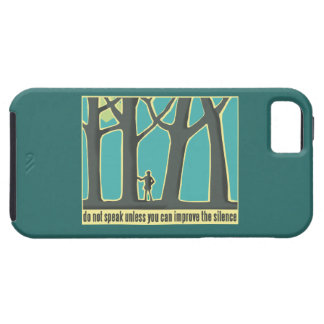 Forest Silence iPhone SE/5/5s Case
