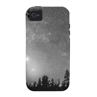 Forest Silhouettes Constellation Astronomy Gazing iPhone 4 Cases