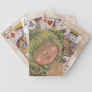 Forest Spirit Sleepy Head Fairy Playing Cards
