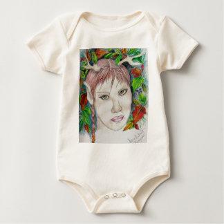 forest sprite baby bodysuit