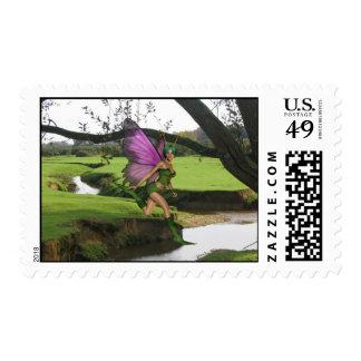 Forest Sprite Stamp