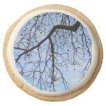 Forest   Square Shortbread Cookies - Pack of 4 Round Premium Shortbread Cookie