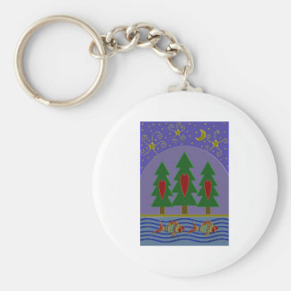 Forest Star Dance Key Chain
