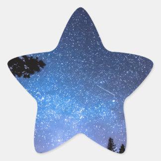 Forest Star Gazing An Astronomy Delight Star Sticker