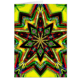 Forest Star Greeting Card