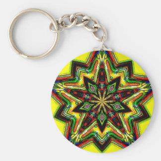 Forest Star Keychain