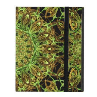 Forest Star Mandala iPad Folio Case