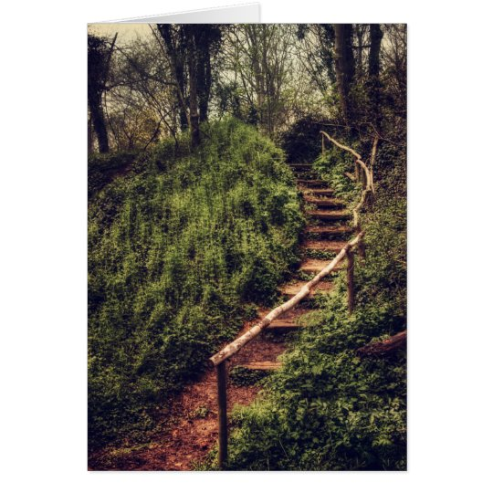 Forest Steps Card