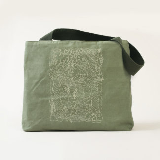 Forest Stream Tote