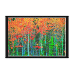 Forest  Stretched Canvas Print