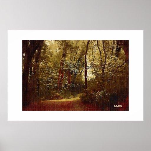 Forest Stroll Print