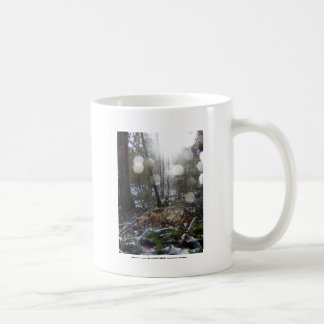 Forest Sun Rays in the Snow # 68 Coffee Mug
