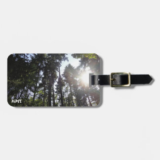 Forest & Sun Travel Bag Tag
