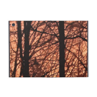 Forest Sunrise Abstract Covers For iPad Mini