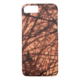 Forest Sunrise Abstract iPhone 7 Case