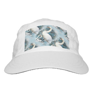 Forest swan blue floral vintage headsweats hat