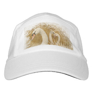 Forest swan girly nature lovers headsweats hat