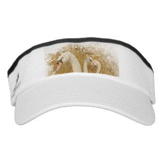 Forest swan girly nature lovers visor