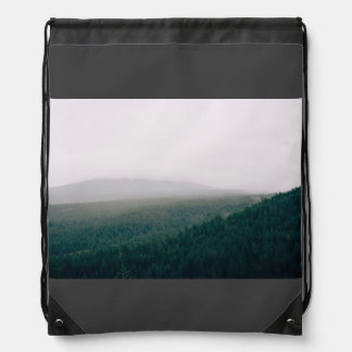 Forest Themed, A Picture Showing A Huge Area Cover Backpack