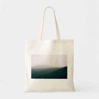 Forest Themed, A Picture Showing A Huge Area Cover Budget Tote Bag
