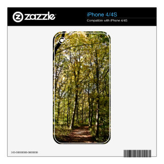 Forest trace iPhone 4/4s skin iPhone 4 Skin