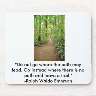 forest trail, mouse pad