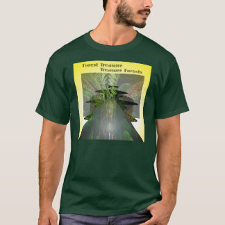 Forest Treasure Treasure Forests by Anjo Lafin T-Shirt