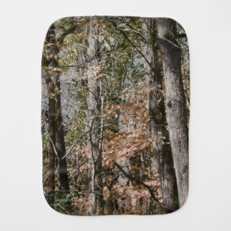 Forest Tree Camo Camouflage Nature Hunting/Fishing Burp Cloth