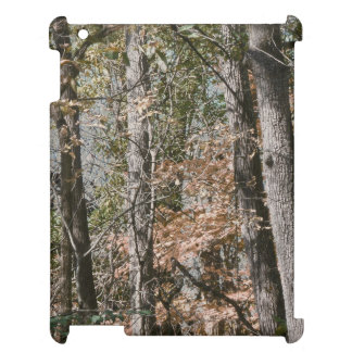 Forest Tree Camo Camouflage Nature Hunting/Fishing iPad Cover