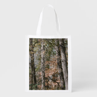 Forest Tree Camo Camouflage Nature Hunting/Fishing Market Totes