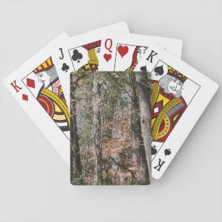 Forest Tree Camo Camouflage Nature Hunting/Fishing Playing Cards