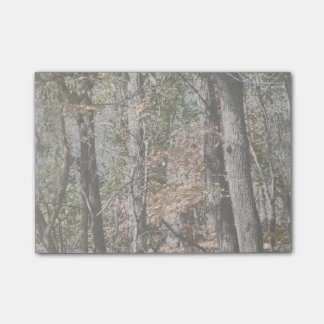 Forest Tree Camo Camouflage Nature Hunting/Fishing Post-it® Notes