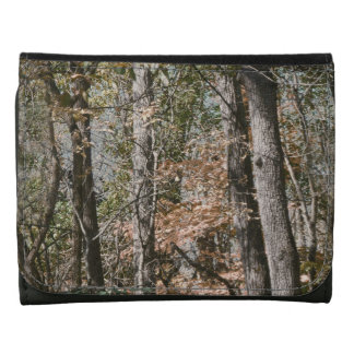 Forest Tree Camo Camouflage Nature Hunting Fishing Wallets