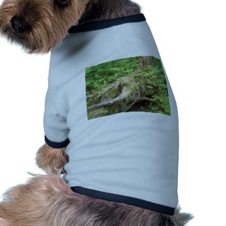 Forest Tree Growth Doggie T-shirt