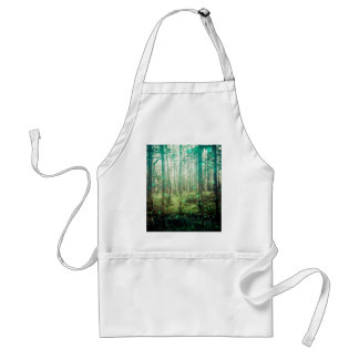 Forest Trees - In the Woods Pattern Adult Apron