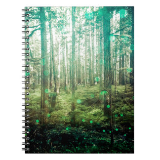 Forest Trees - In the Woods Pattern Notebook