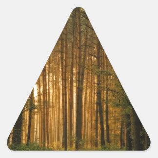 Forest Triangle Sticker
